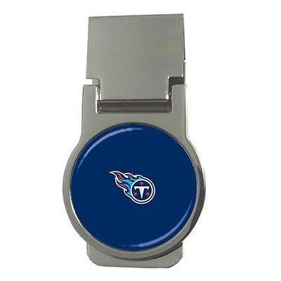 Tennessee Titans Chrome Money Clip - NFL Football
