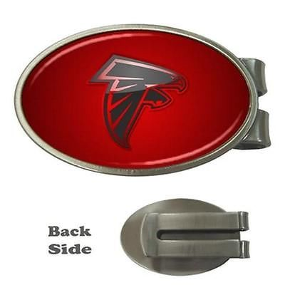 Atlanta Falcons Chrome Money Clip - NFL Football