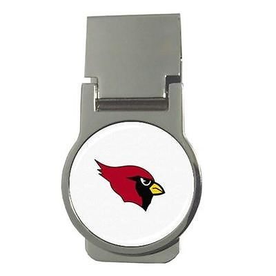 Arizona Cardinals Chrome Money Clip - NFL Football