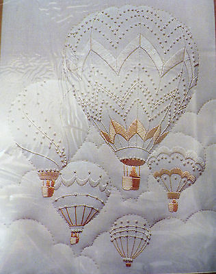 1983 Monarch Horizons Candlewicking Kit Roger Reinardy Hot Air Majestic Balloons