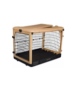 Pet Gear Deluxe Steel Dog Crate With Pad - Small 961-PG5927TN - $176.17