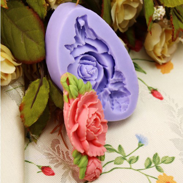Silicone Rose Flower Mold