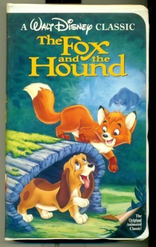 The Fox and the Hound (used classic Walt Disney VHS)