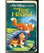 The Fox and the Hound (used classic Walt Disney VHS) - $7.00