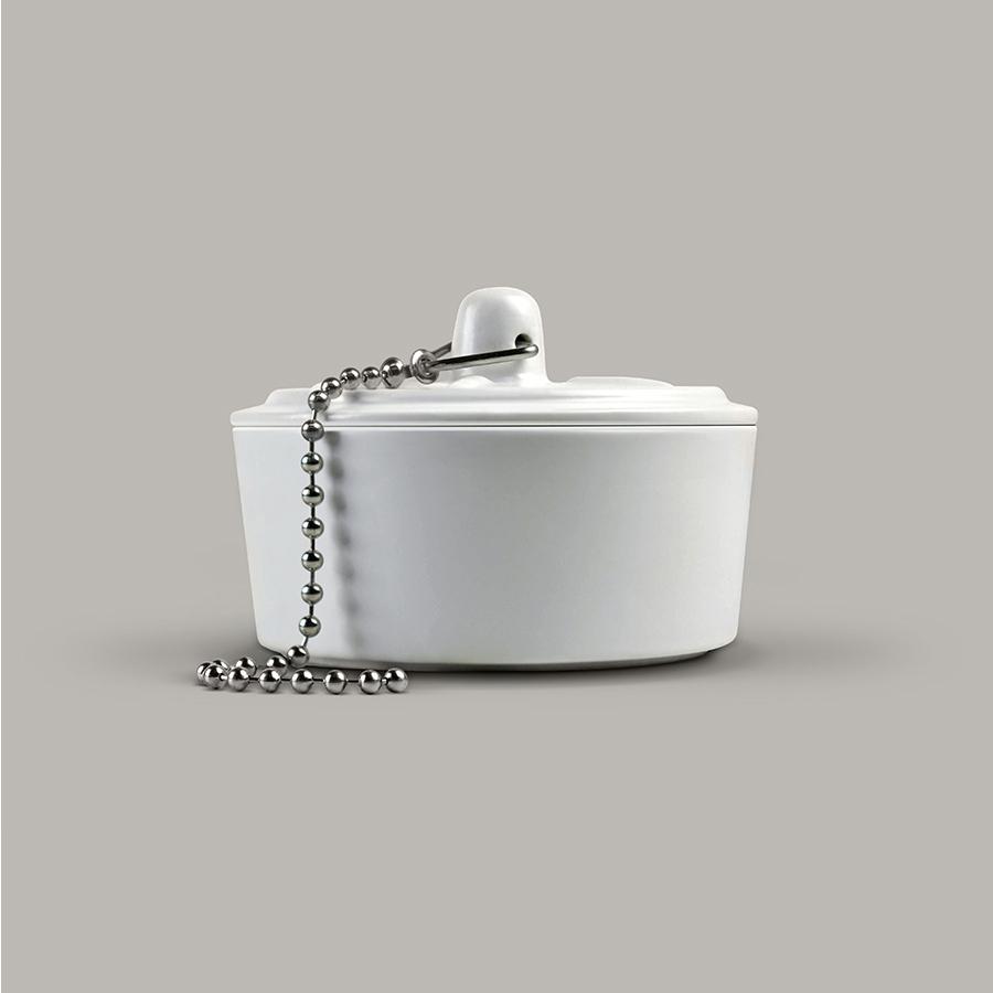 Home Bathroom Design Funky Gifts Ceramic Box Shaped Plug Nail Clipper Scissors ?