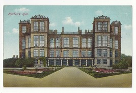 UK England Hardwick Hall Derbyshire Vtg ca 1913 Jackson & Son Postcard - $5.95