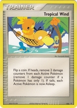 Tropical Wind 026 Rare Nintendo Black Star Promo  - $5.98