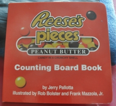 Learning to Count with Reese's Pieces Peanut Butter Candy - Counting Boa... - $0.75