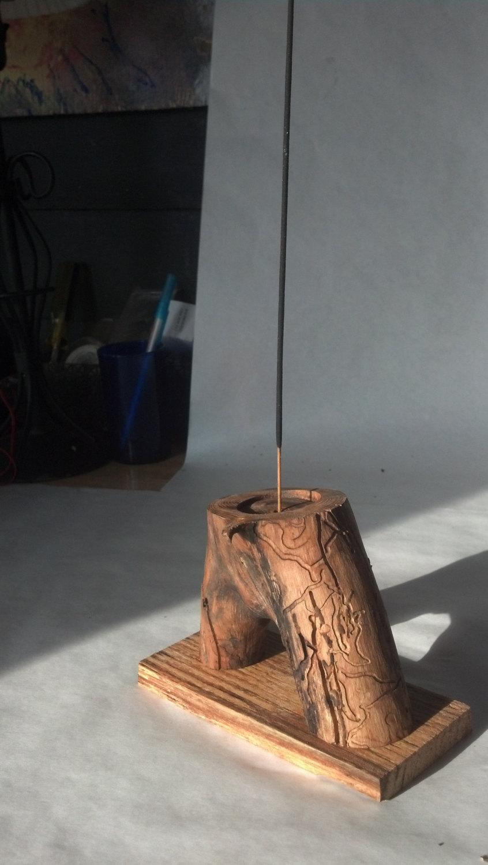 Nature carved Incense holder