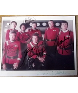 LEONARD NIMOY ,WILLIAM SHATNER,GENE RODDENBERRY  (STAR TREK WRATH OF KHA... - $1,200.00
