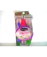 New Limited Edition Schick Quattro For Women Sensitive Skin 3 Disposable... - $5.00