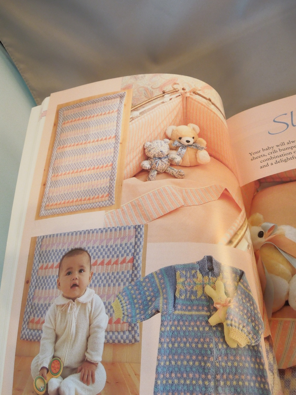 """Family Circle Publication 1990 """"Beautiful Things to Make For Baby""""  #4879 /#7306"""