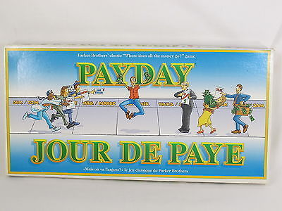 Payday Board Game 1994 Parker Brothers 100% Complete Near Mint Bilingual **