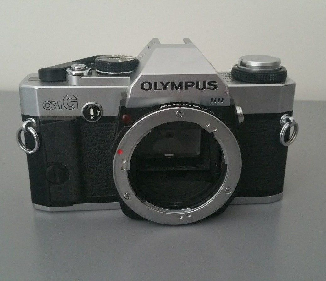Olympus OMG Camera Body Only 35MM Manual SLR