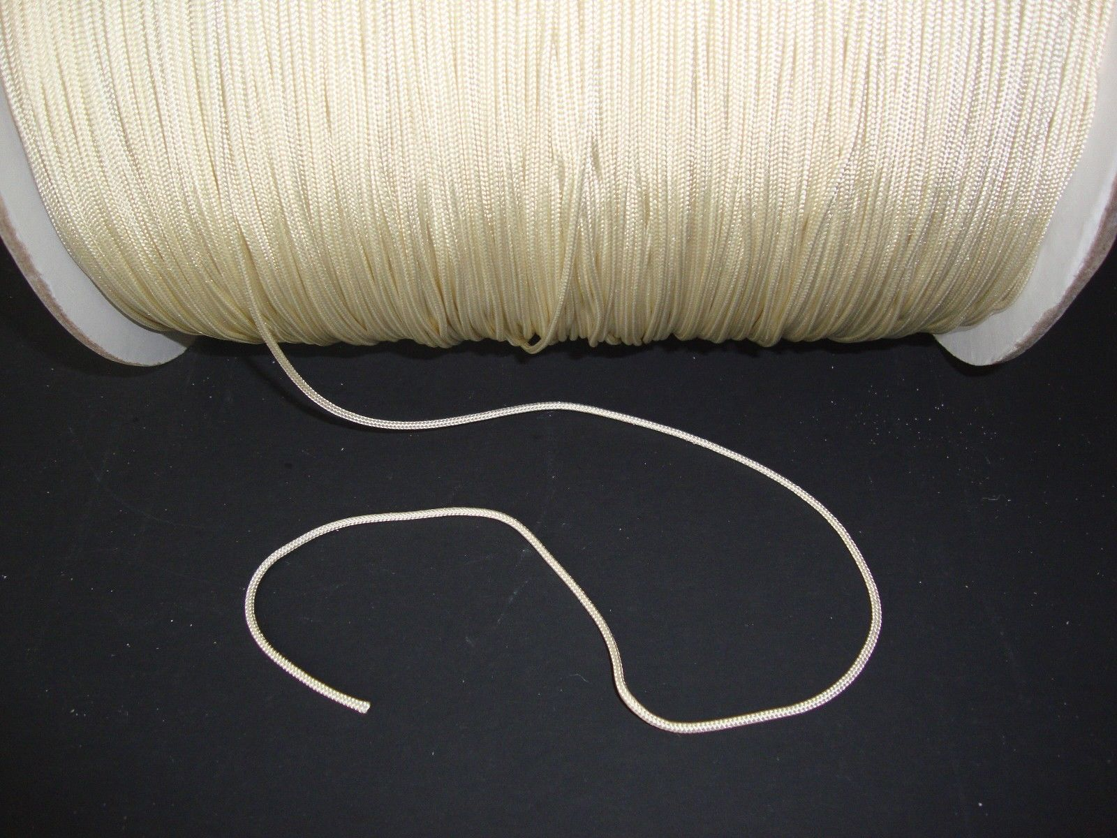 10 YARDS: 1.8mm ALABASTER LIFT CORD for Blinds, Roman Shades and More