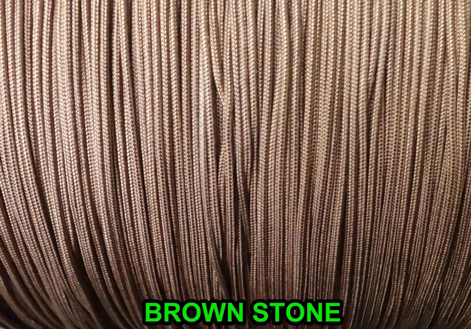 40 FEET:1.8mm BROWNSTONE LIFT CORD for ROMAN/PLEATED shades &HORIZONTAL blind