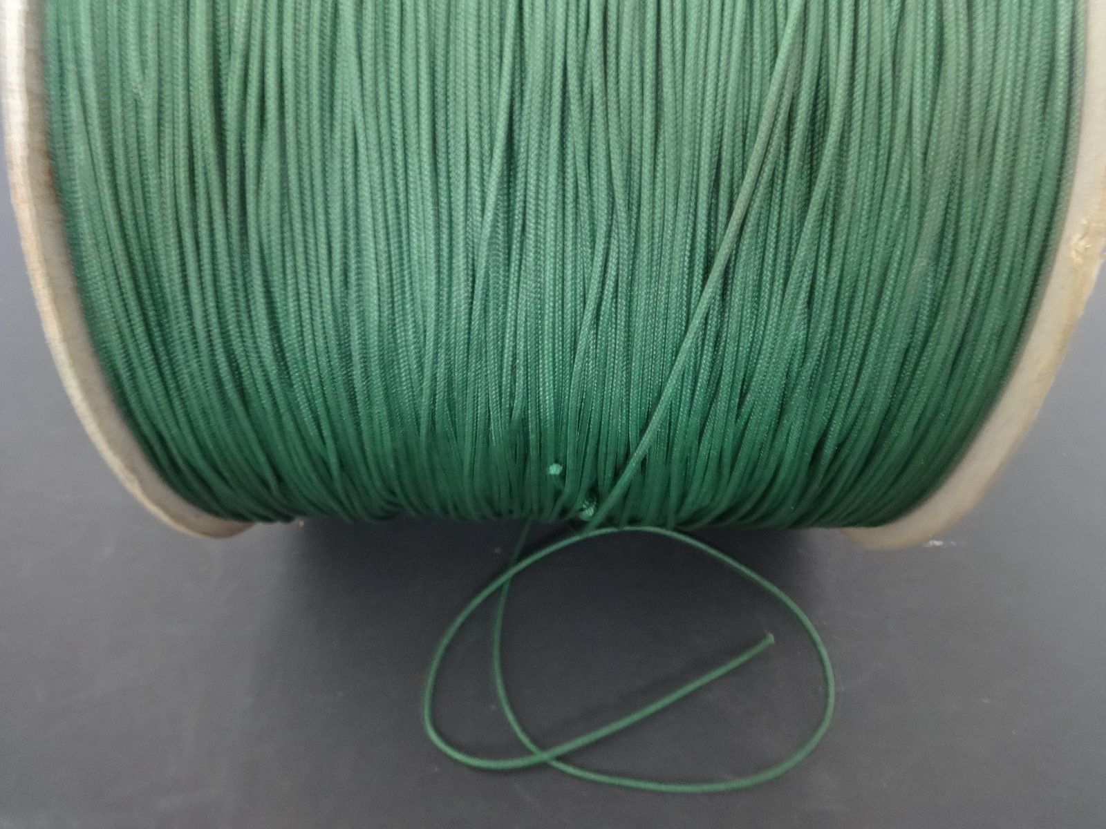 50 FEET:1.8mm Forest Green LIFT CORD for ROMAN/PLEATED shades, blinds & craft