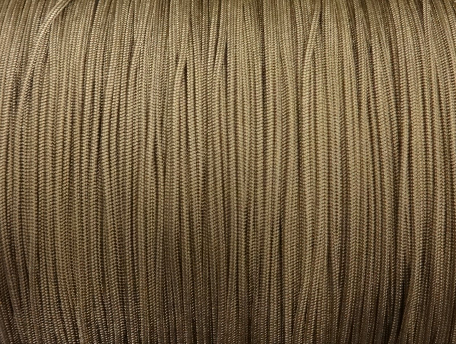 25 YARDS: 1.8mm MILK CHOCOLATE LIFT CORD for ROMAN/PLEATED shades & blinds