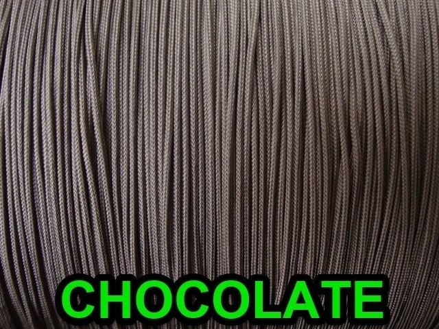 40 FEET CHOCOLATE:1.8mm  LIFT CORD for Blinds, Roman Shades and More