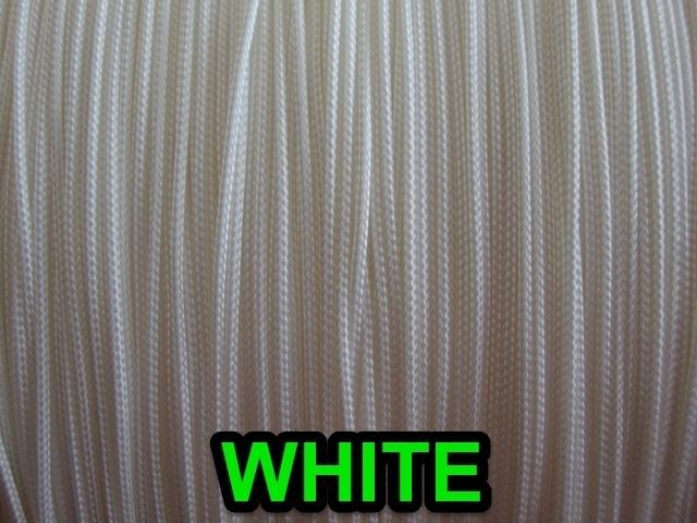 25 FEET : 1.4mm WHITE LIFT CORD for Blinds, Roman Shades and More