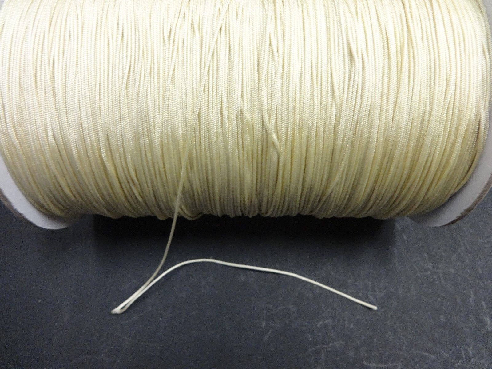 50 FEET:1.4mm Biscuit LIFT CORD for Blinds, Roman Shades and More