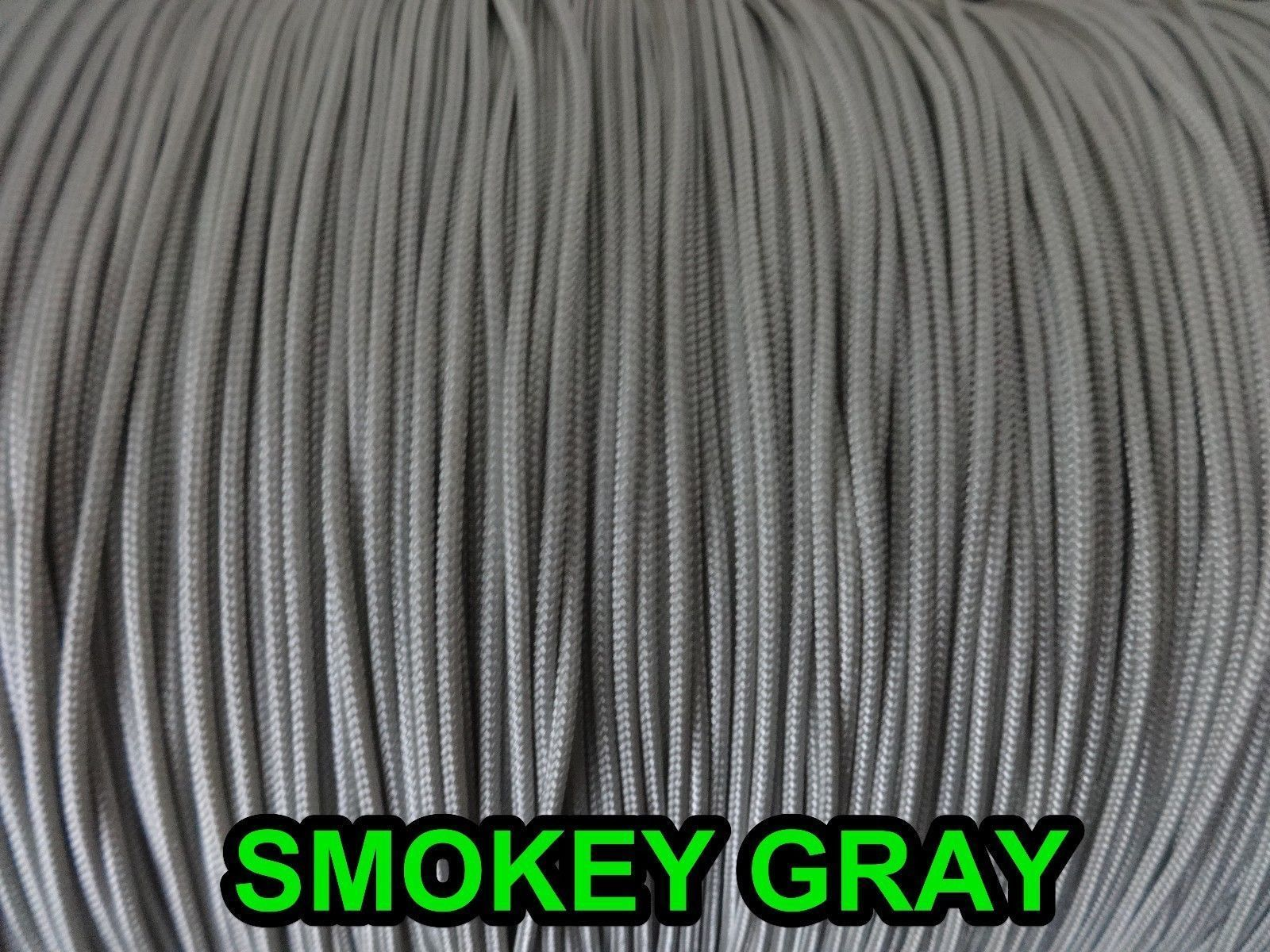 20 FEET: 1.4mm SMOKEY GRAY LIFT CORD: ROMAN /PLEATED shade & HORIZONTAL blind