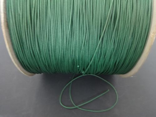 25 FEET:1.8mm Forest Green LIFT CORD for ROMAN/PLEATED shades, blinds & craft