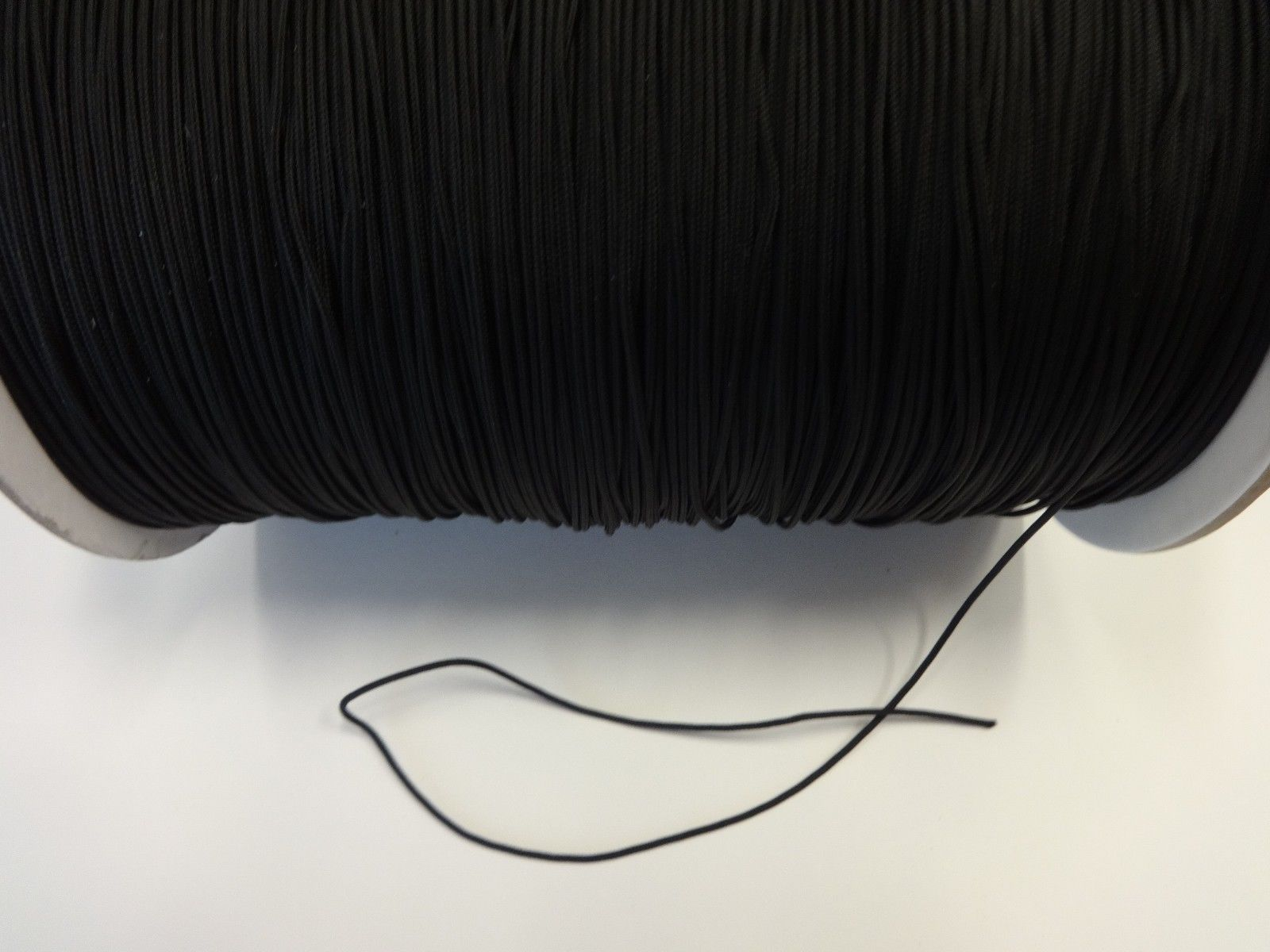 25 FEET:1.8mm BLACK LIFT CORD for Blinds, Roman Shades and More