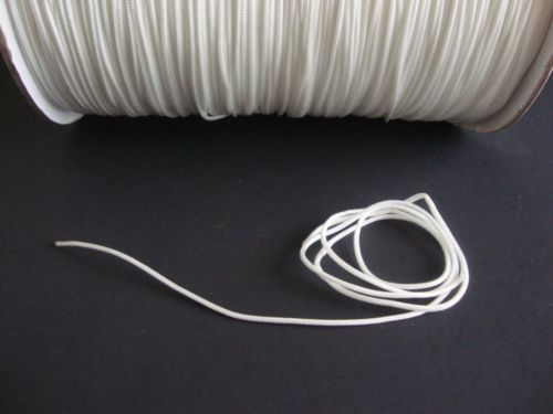 10 YARDS : 1.8mm WHITE LIFT CORD for Blinds, Roman Shades and More