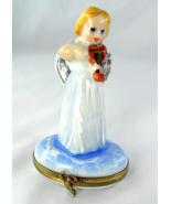 Limoges Box - Heavenly Angel & Violin - Clouds ... - $85.00