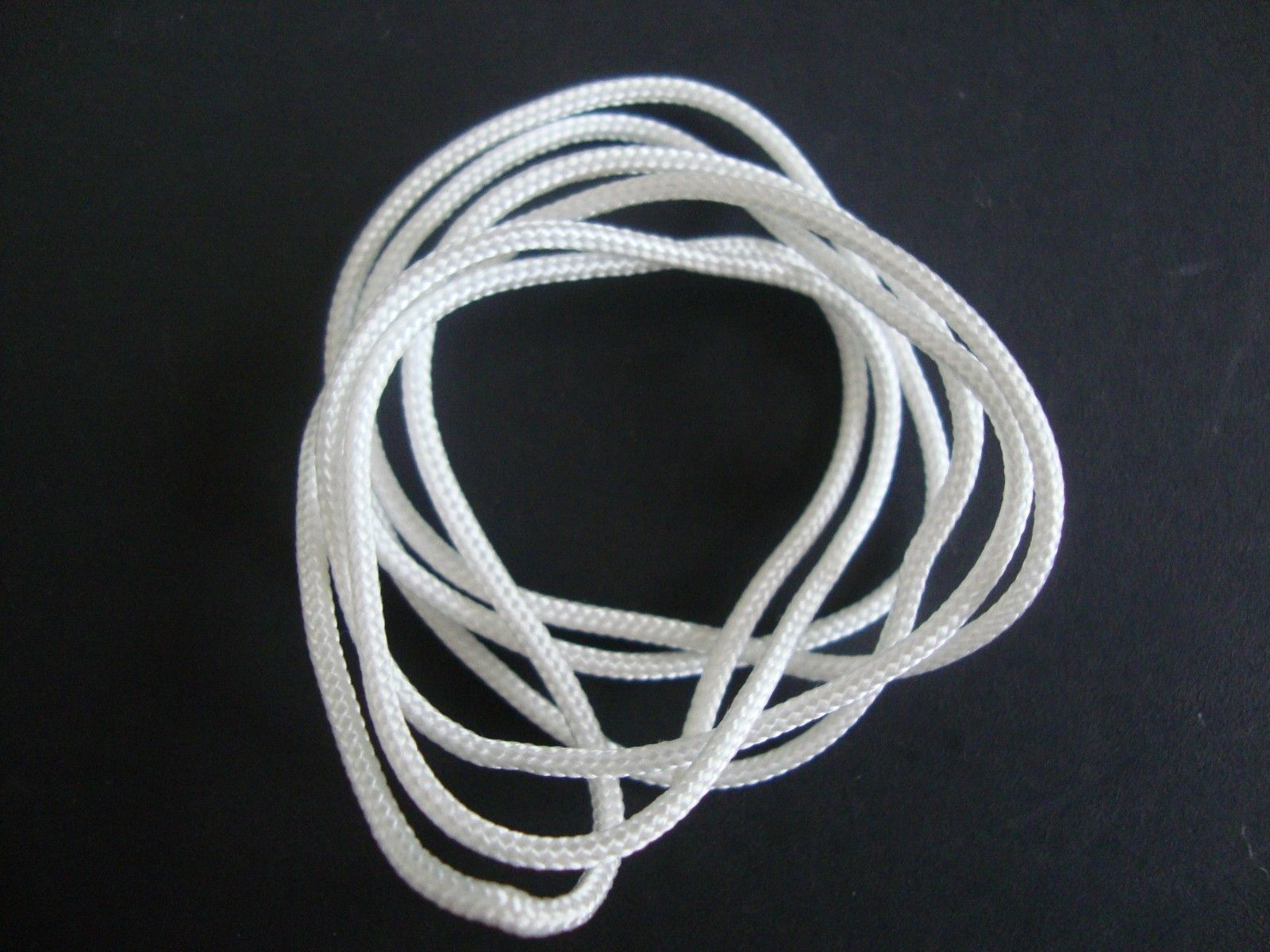 60 FEET : 1.8mm WHITE LIFT CORD for Blinds, Roman Shades and More