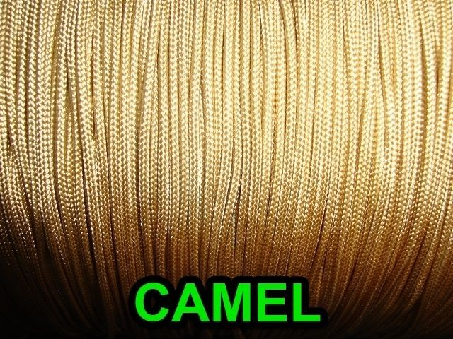 60 FEET:1.8mm CAMEL LIFT CORD for Blinds, Roman Shades and More