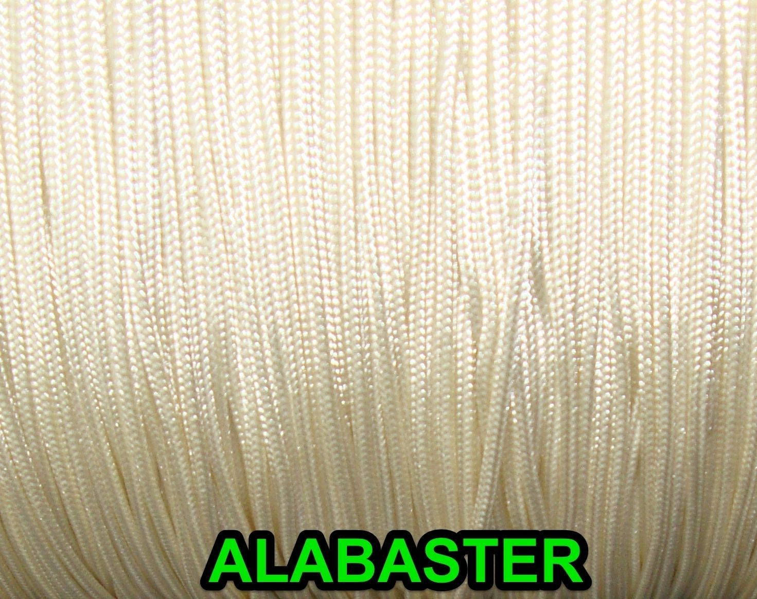 50 FEET:1.8mm ALABASTER LIFT CORD for Blinds, Roman Shades and More