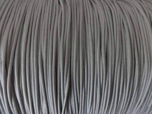 50 FEET : 1.4mm SMOKEY GRAY LIFT CORD :ROMAN/PLEATED shade & HORIZONTAL blind