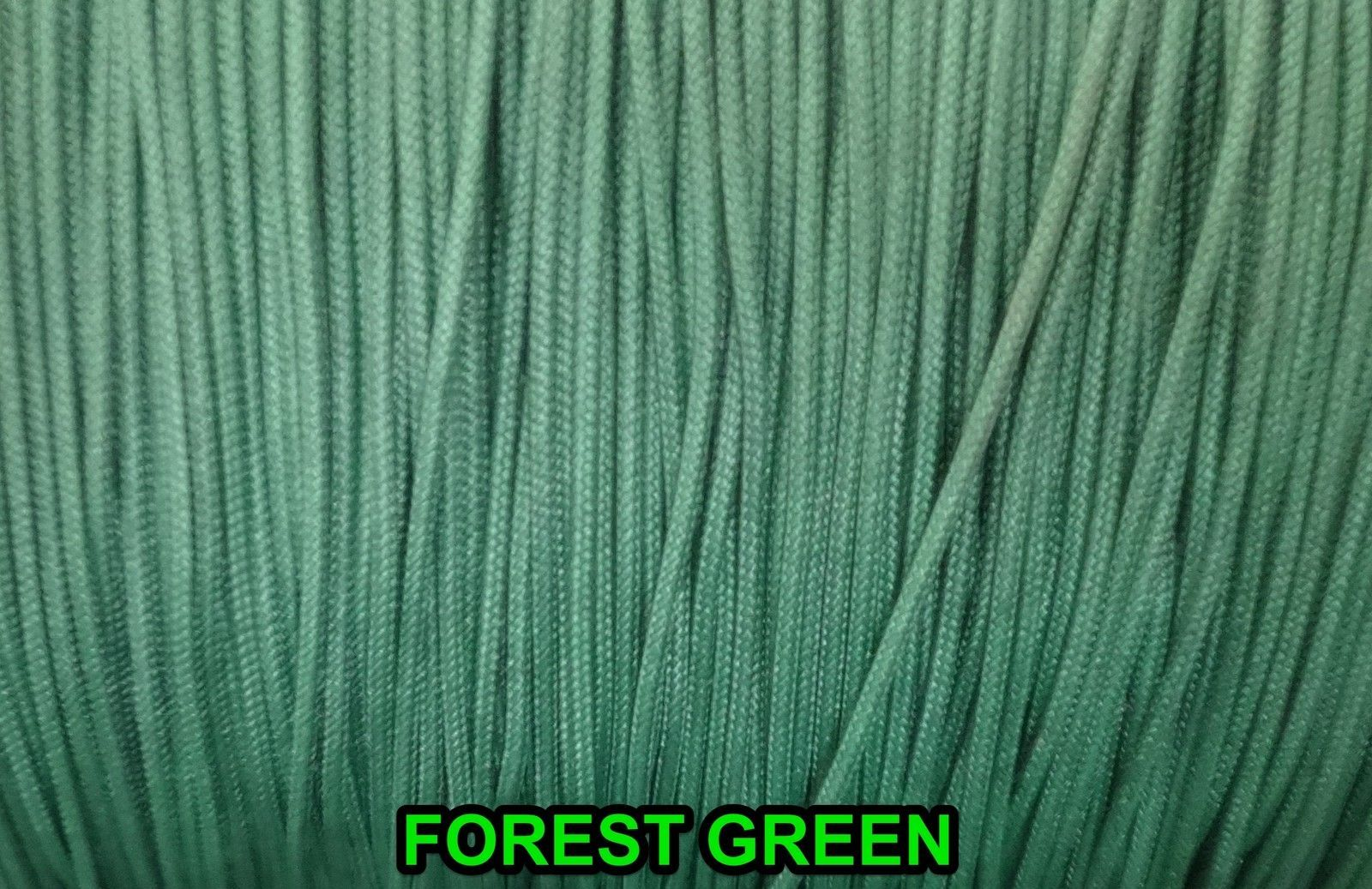 10 YARDS :1.8mm Forest Green  LIFT CORD for Blinds, Roman Shades and More