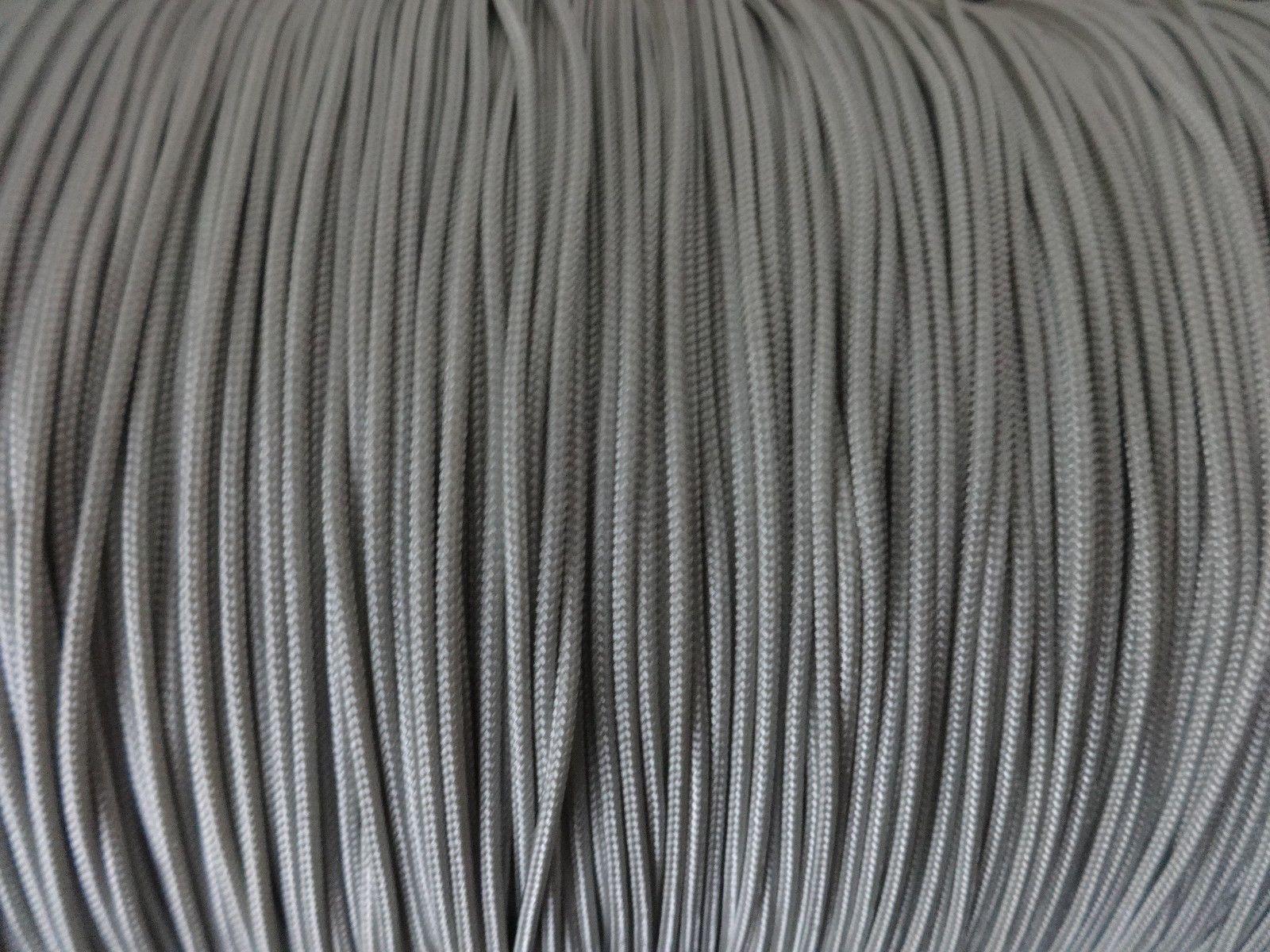 25 FEET : 1.4mm SMOKEY GRAY LIFT CORD :ROMAN/PLEATED shade & HORIZONTAL blind