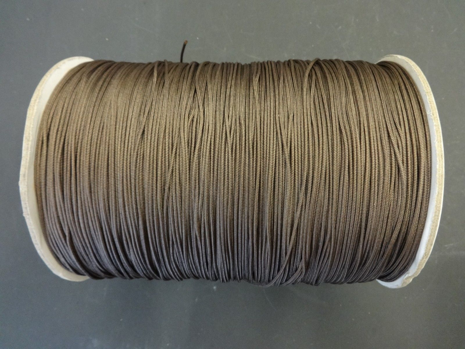 60 FEET:1.8mm CHAR BROWN LIFT CORD for ROMAN/PLEATED shade & HORIZONTAL blind