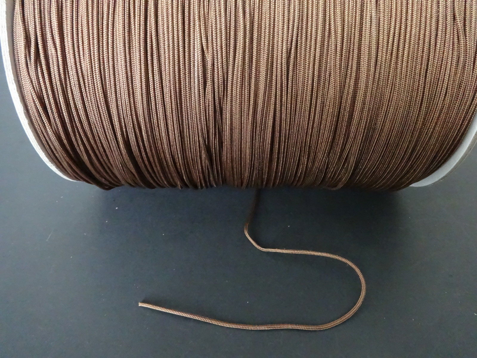 25 FEET:1.8mm BROWNSTONE LIFT CORD for ROMAN/PLEATED shades &HORIZONTAL blind