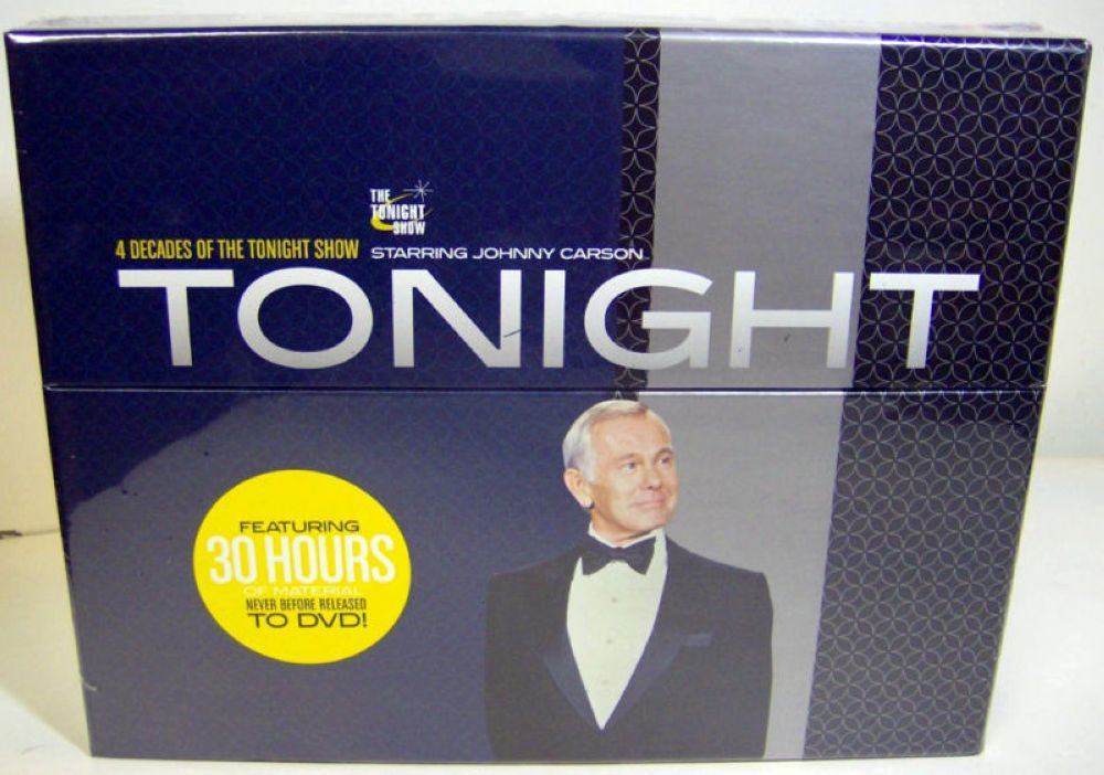 Tonight   4 decades of the tonight show starring johnny carson
