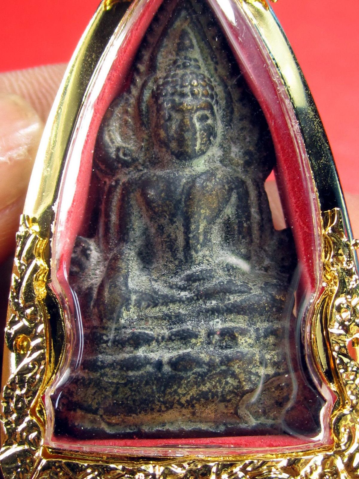 VERY RARE HOLY PHRA BUDDHA CHIN-NARAT WAT YAI 300 YEARS TOP THAI BUDDHA AMULETS