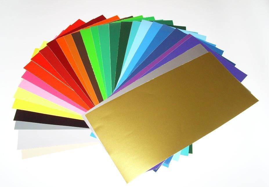 """12"""" x 24"""" Glossy Adhesive backed Vinyl for Cricket, Silhouette Cameo, etc..."""