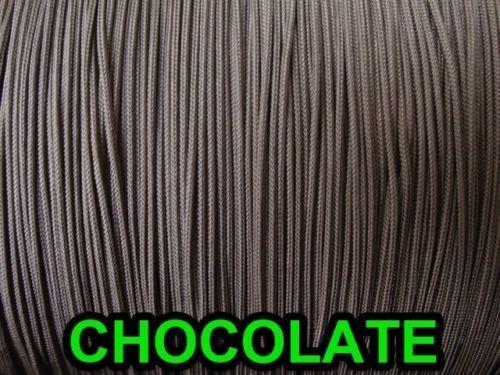 1000 YARDS :1.8mm LIFT CORD, in Chocolate (Darkest Brown)