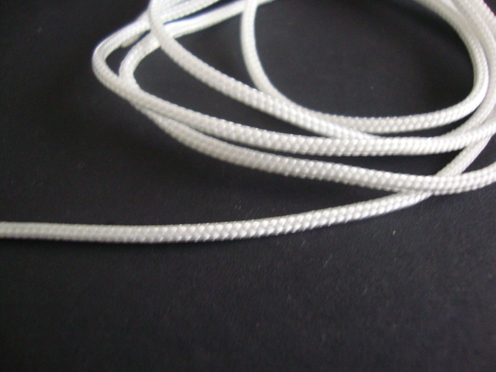 100 YARDS :1.8mm WHITE LIFT CORD for Blinds, Roman Shades and More
