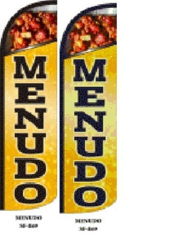 Menudo King Size Windless 38 x 138 in Polyester Swooper Flag pk of 2