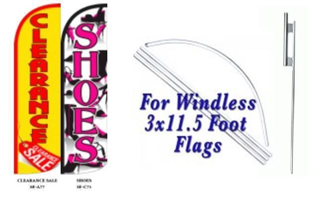 Clearance Sale Shoes  Windless  Swooper Flag With Complete Kit