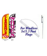 Clearance Sale Shoes  Windless  Swooper Flag With Complete Kit - $110.00