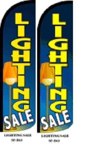 Lighting Sale King Size Windless 38 x 138 in Polyester Swooper Flag pk of 2