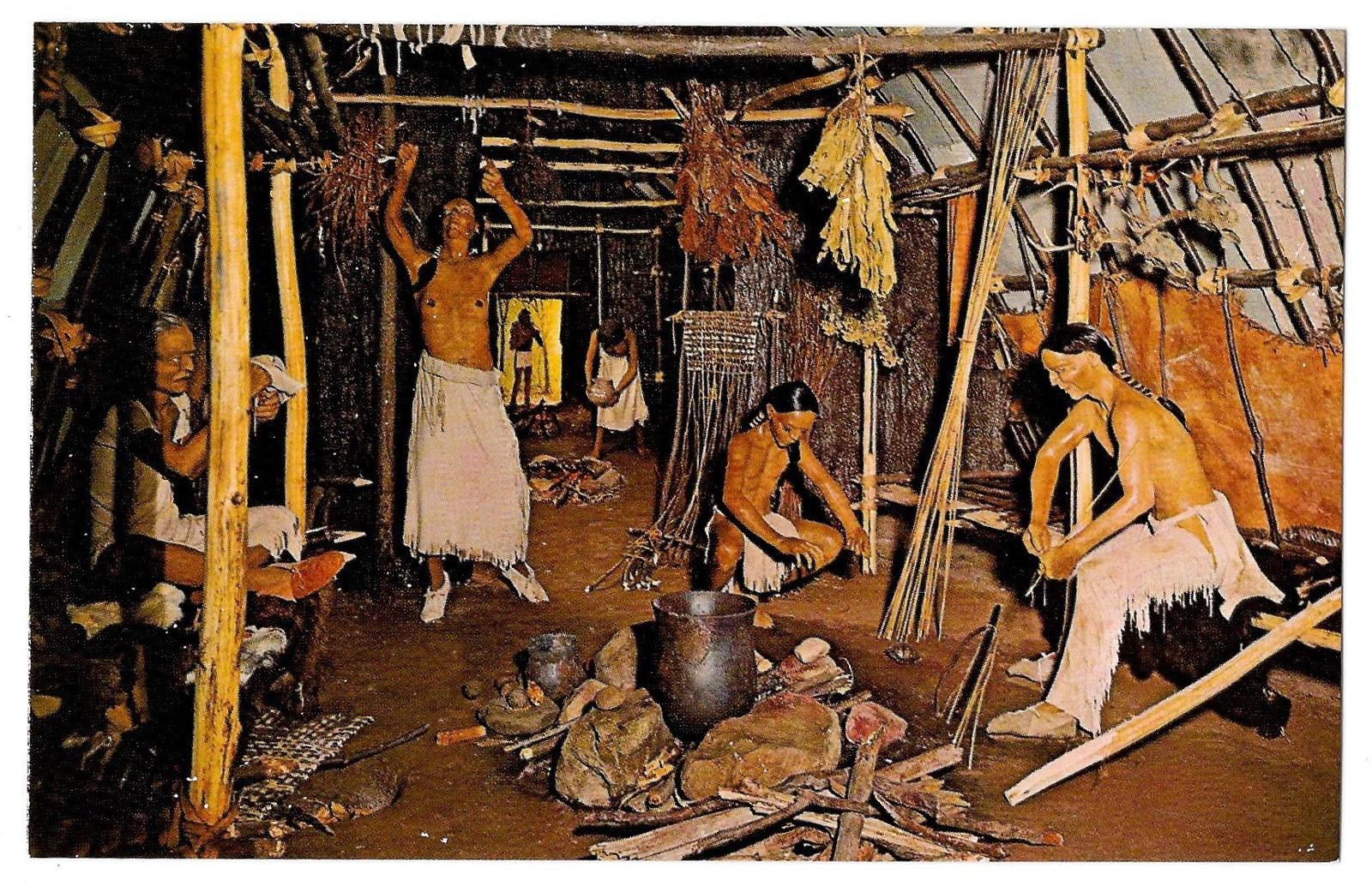 Bu 9040 3 native american william penn mem museum delaware longhouse
