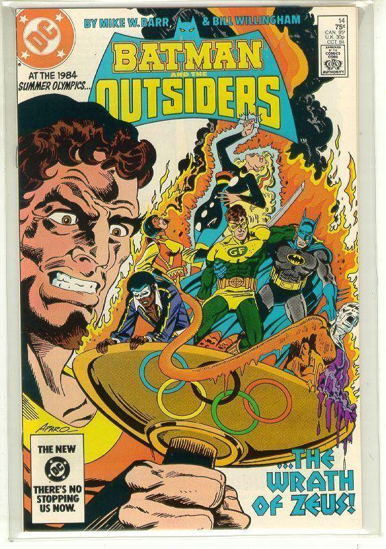 BATMAN and the OUTSIDERS #14 (DC Comics, 1983 Series) NM!