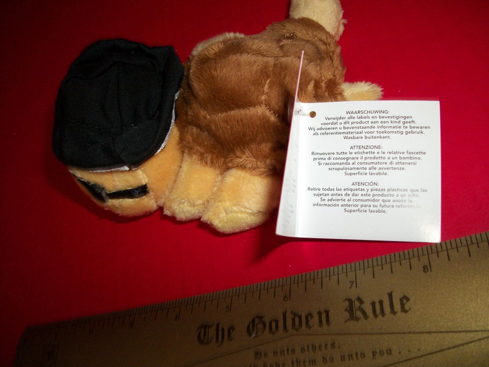Toy Gift Russ Plush Shelly Small Pirate Turtle Stuffed Animal Yellow Eye Patch